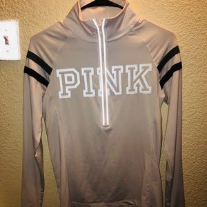 Pink activewear sweater